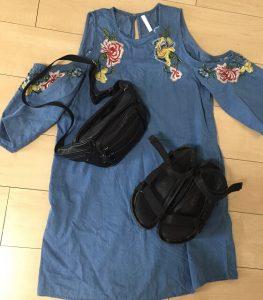 ハワイ旅行(4月の服装)