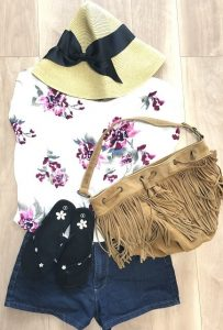 ハワイ旅行(10月の服装)