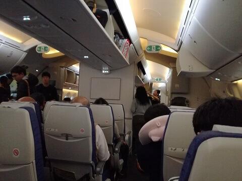 LCCの機内の様子